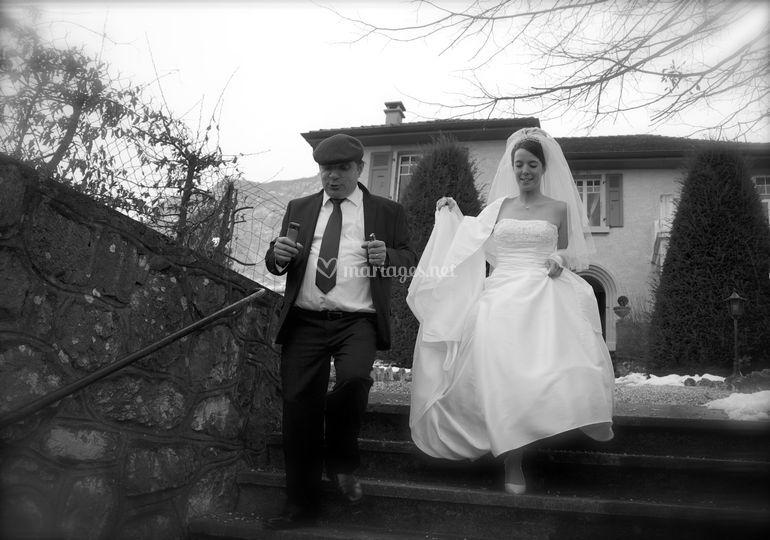 Papa et la mariée