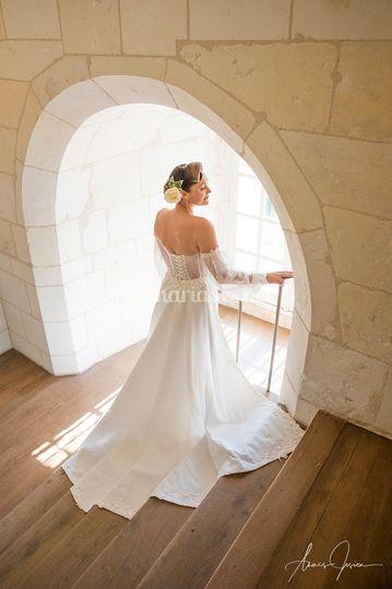 Mariée dans son château