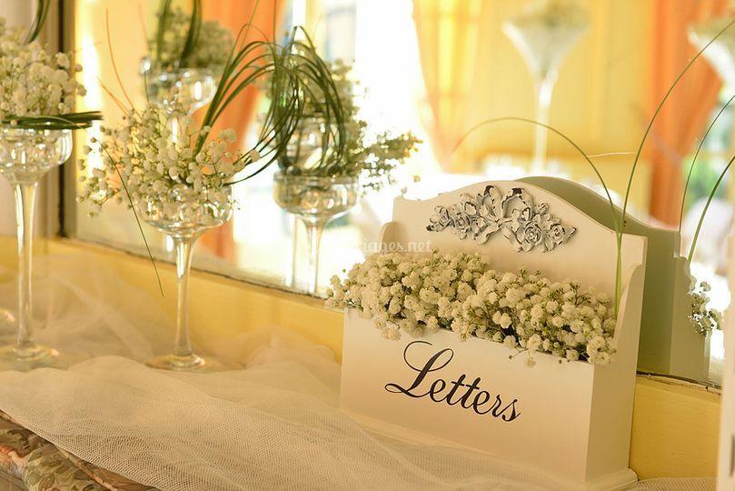 Mariage blanc & transparent
