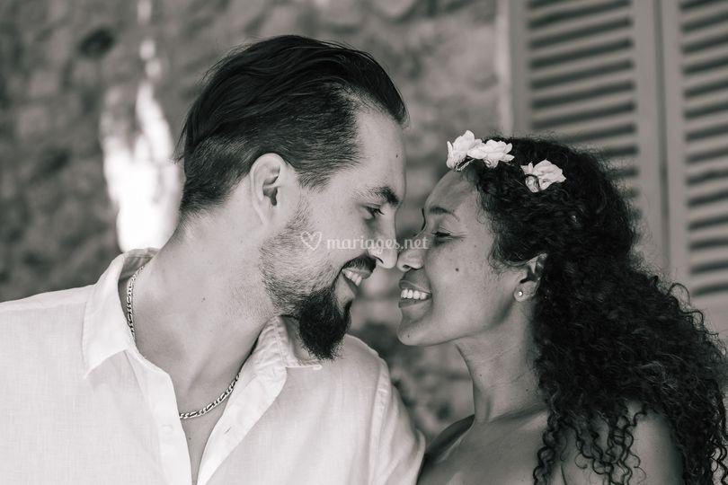 Les mariés portrait