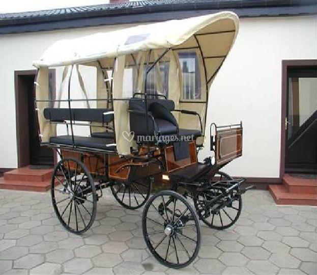 Exemple wagonnette 8 places