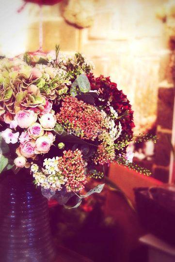 """Bouquet """"brassée de fleurs"""""""