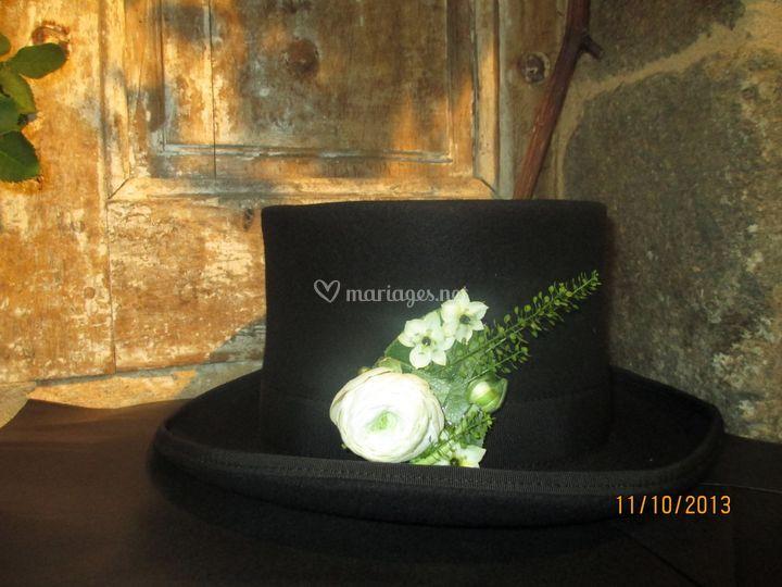 Décor de chapeau