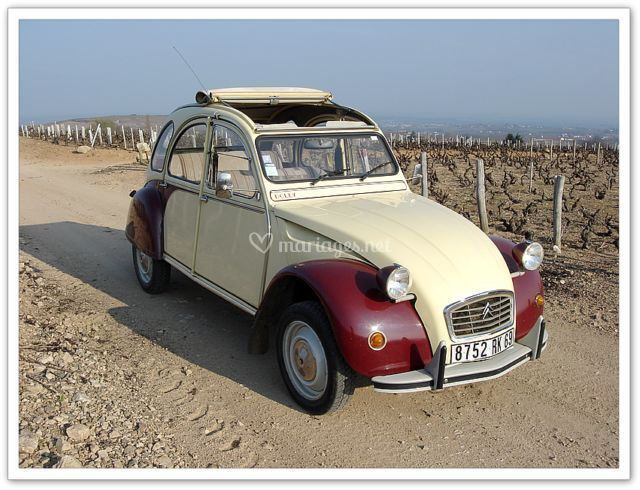 Mytique 2 CV Citroën