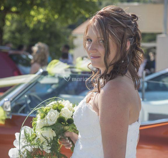 Portrait de la mariée