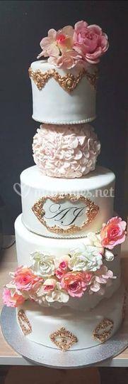 Wedding cake Moderne