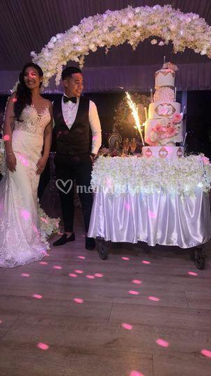Wedding cake créatif mariage