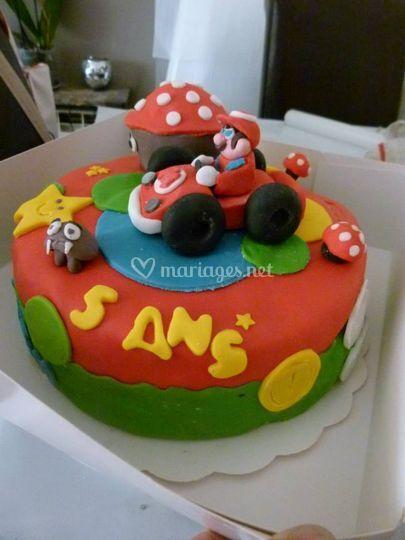 Cake design Super Mario