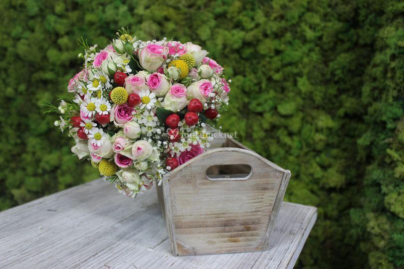 Bouquet de mariée personnalisé