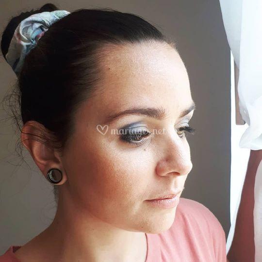 Maquillage bleu