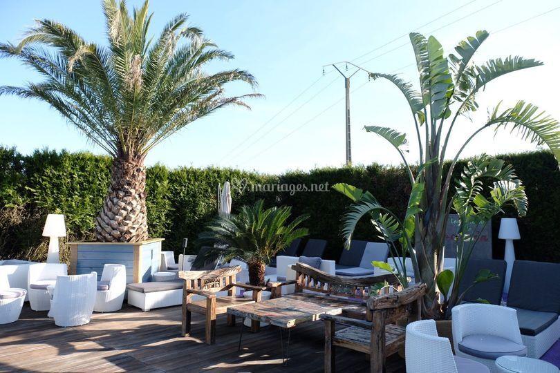 Les jardins de l'hacienda