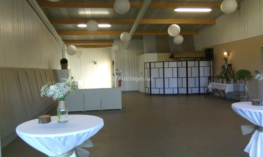 Installation salle