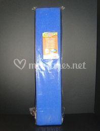Papier crépon bleu