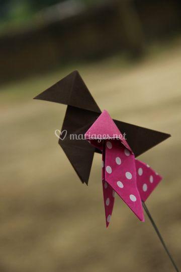 Déco origami