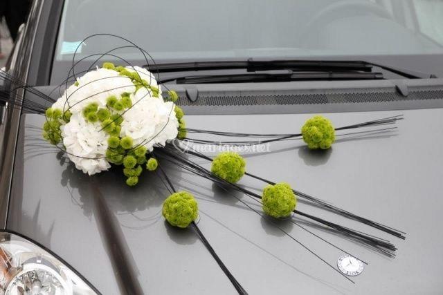 Décoration de voiture moderne