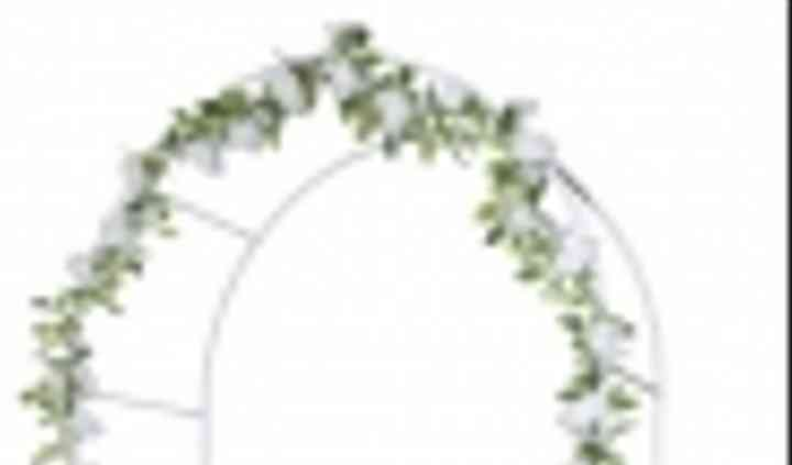 Arche blanc pour décoration