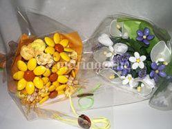 Composition de fleurs de dragées