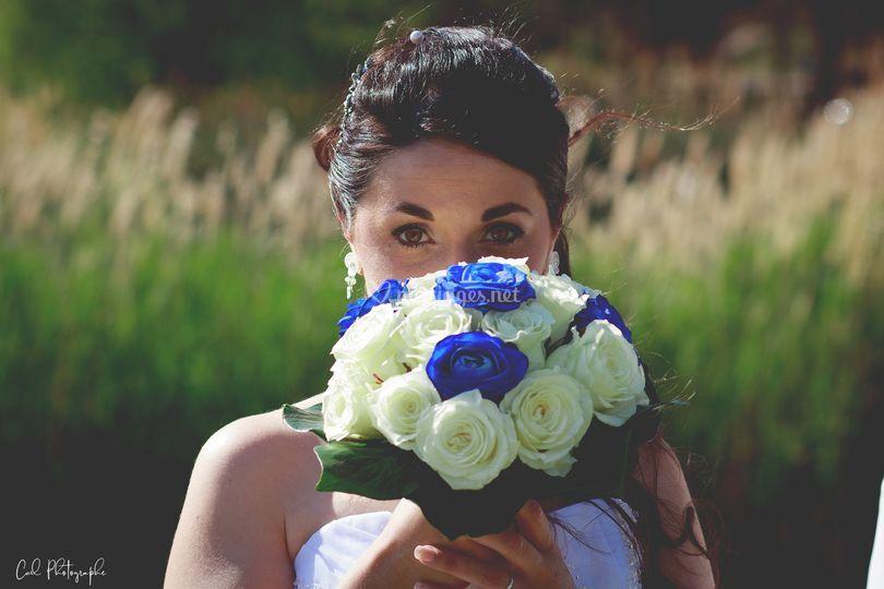 Séance photo mariée