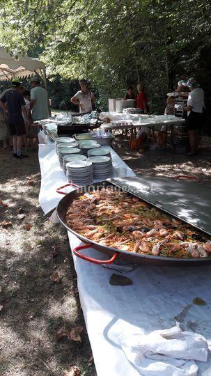 Paella buffet