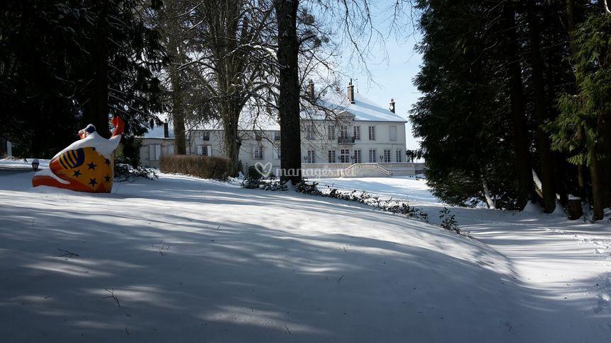 Le parc, hiver 2018