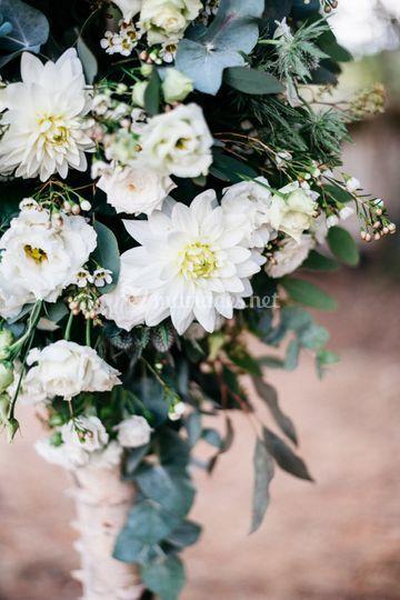 Ambiance de l'arche fleurie