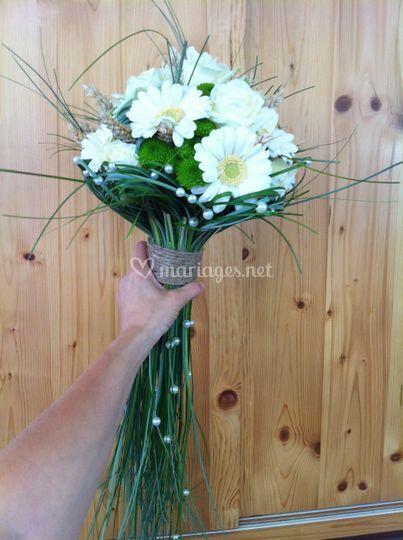 Bouquet champêtre blé