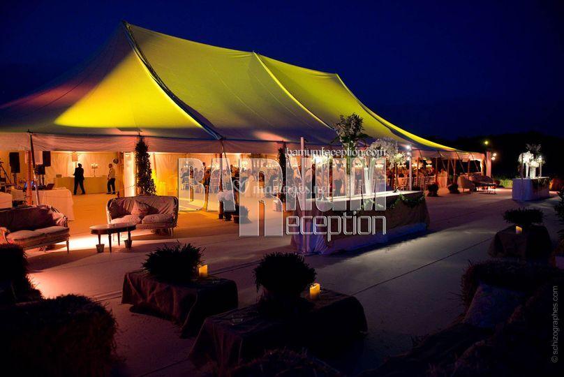 450 m² + terrasse barnum