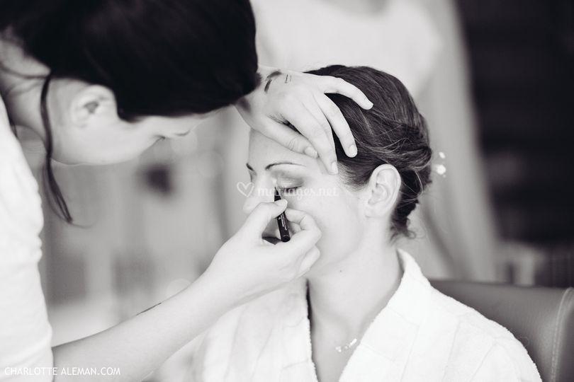 Réalisation maquillage
