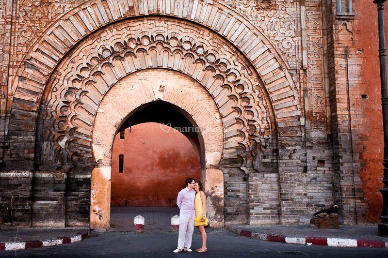 Mariés à Marrakech