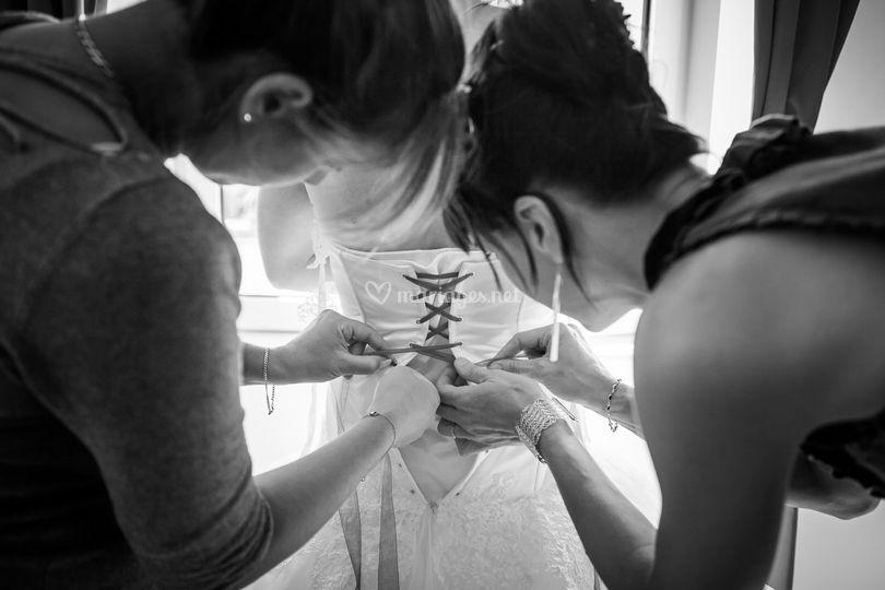 Robe de mariée Pics&Motion