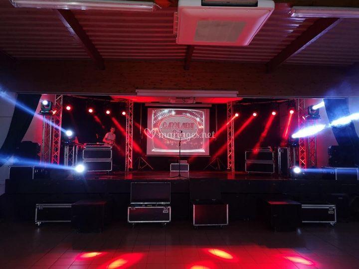 Podium DJ Machprod Event