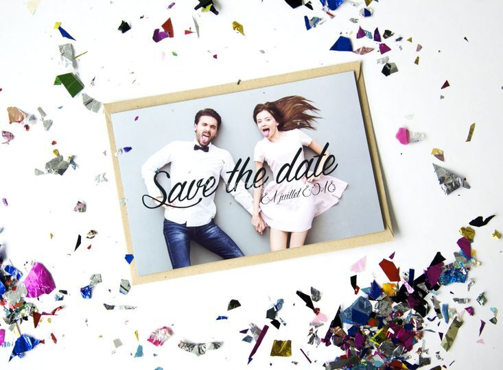Save the date magnétique
