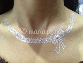 Perle, poudre diamant