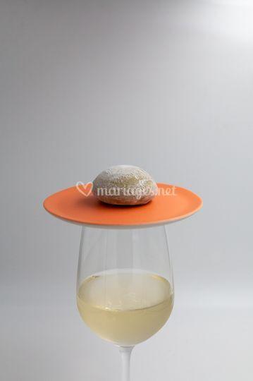 Mochi avec vin