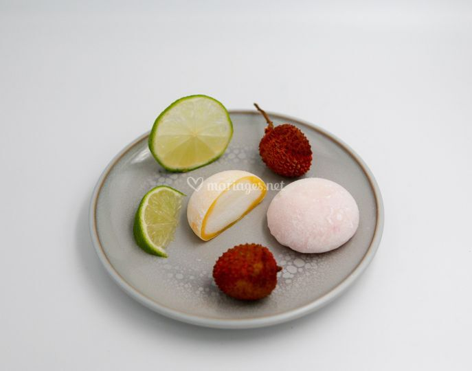 Mochi litchi et mochi citron