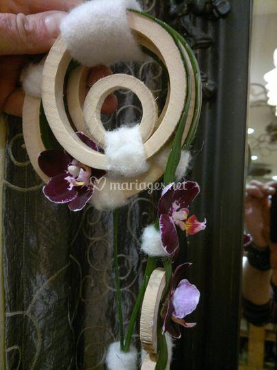 Détail bouquet de mariée