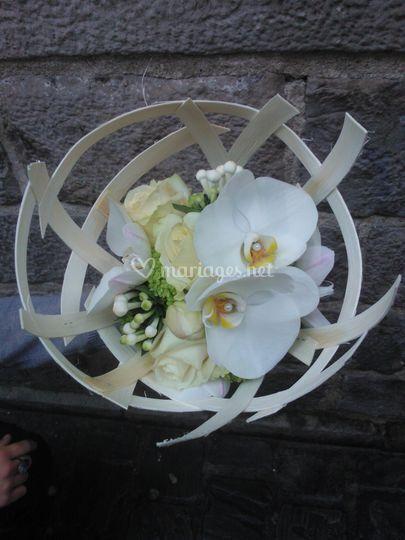 Bouquet de mariée...orchidée..