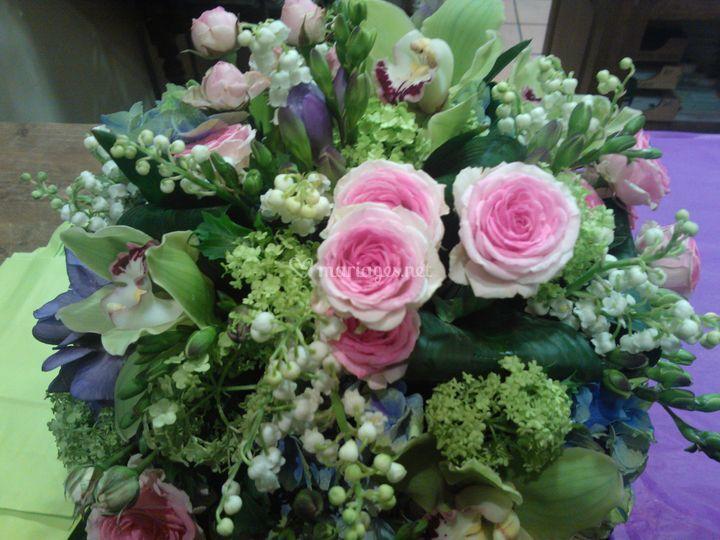 Bouquet de mariée en mai