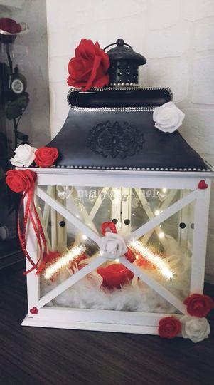 Urne mariage lanterne