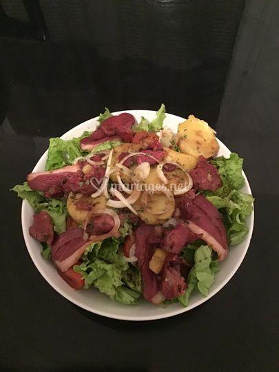 Salade gascogne