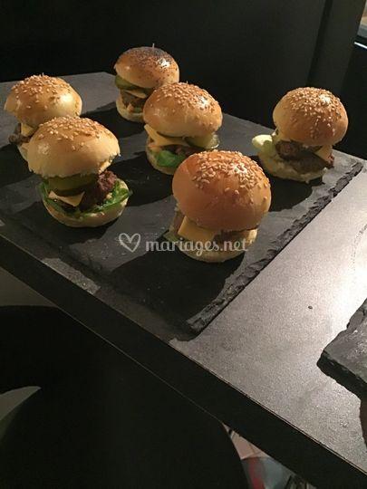 Minisi burger viande haché