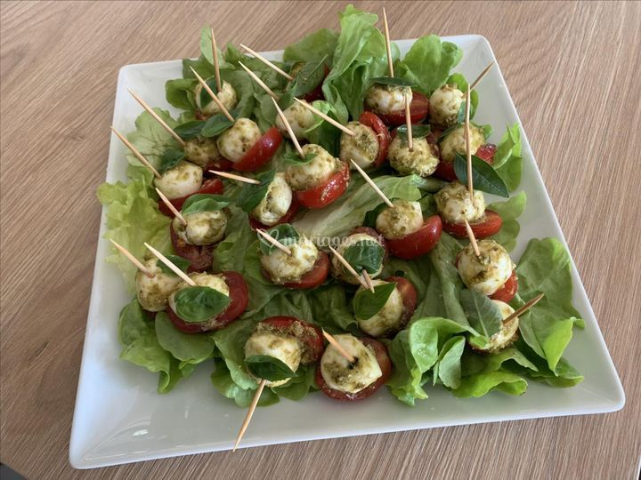 Tomate/Mozza/Basilic frais