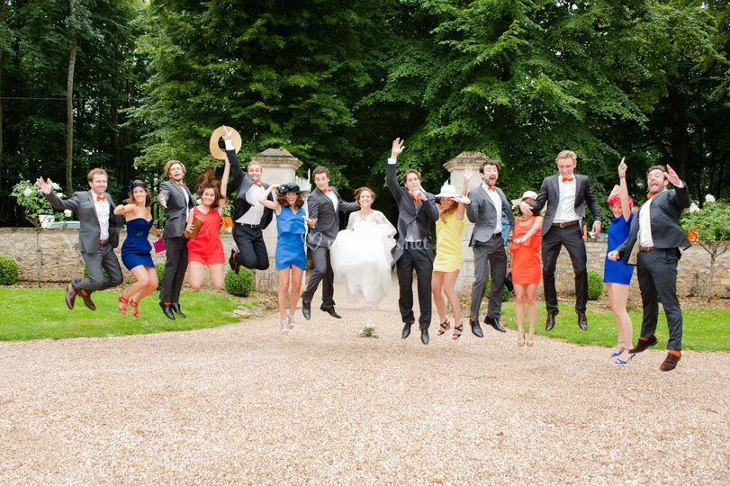 Reportage mariage groupes