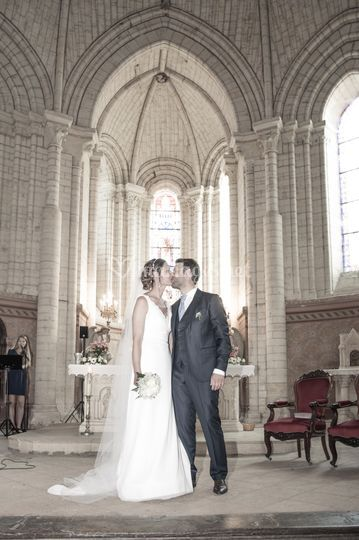 Reportage mariage église