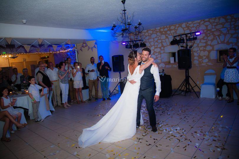 Reportage mariage bal
