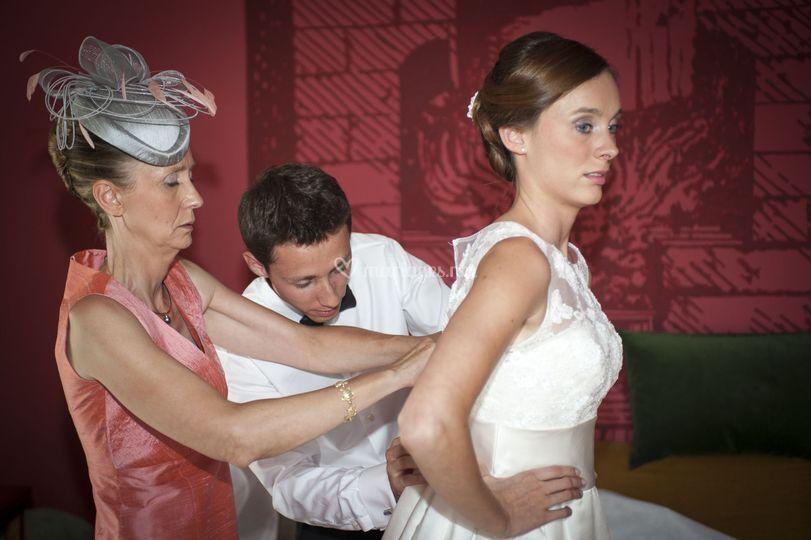 Reportage mariage préparatifs