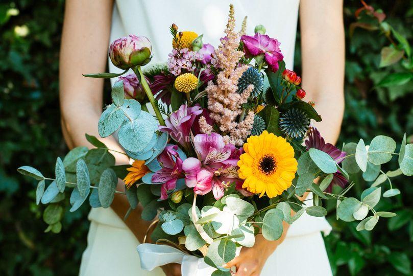 Bouquet de fleur de la mariée
