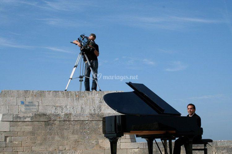 Frederic La Verde, tournage la Valse du Monde