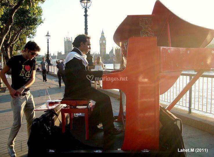 Le Piano Rouge à Londres