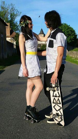 Un couple décalé